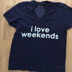 Peace Love World t-shirt